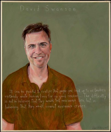 My Portrait Painted by Robert Shetterly